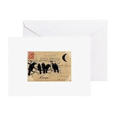 Nevermore Ravens Carte Postale Greeting Card