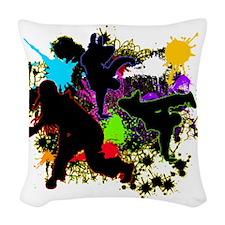 HIP-HOP Woven Throw Pillow