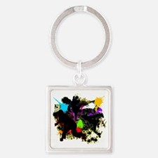 HIP-HOP Square Keychain