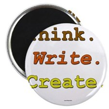 Think. Write. Create. Magnet