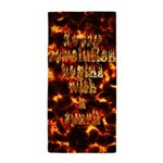 Every revolution begins with a spark Beach Towel