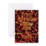Every revolution begins with a spark Greeting Card