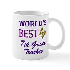 World's Best 7th Grade Teacher Mug