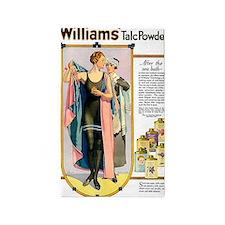 WILLIAM'S TALC POWDER, N.D 3'x5' Area Rug