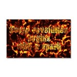 Every revolution begins with a spark Car Magnet 20