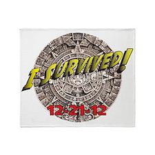 Survivor 12-21-12 Throw Blanket