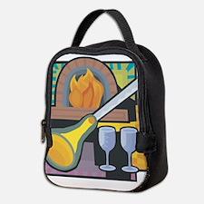 Glass Blowing Neoprene Lunch Bag