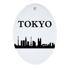 Tokyo Ornament (Oval)