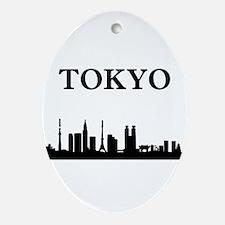 Tokyo Ornament (Oval)