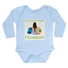 I COUPON! Long Sleeve Infant Bodysuit