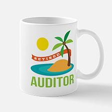 Retired Auditor Mug