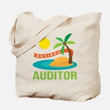Retired Auditor Tote Bag