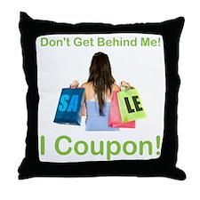 I COUPON! Throw Pillow