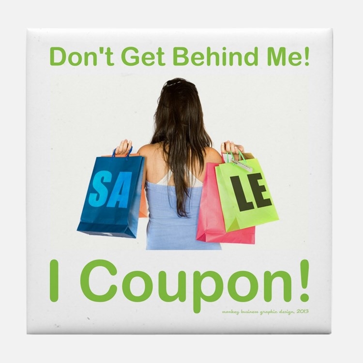 I COUPON! Tile Coaster