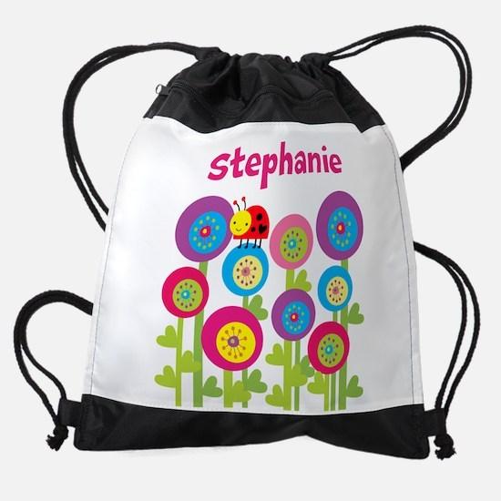 Ladybug Garden Drawstring Bag
