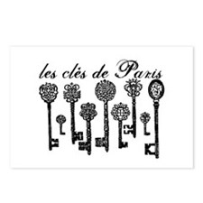 The Keys to Paris Postcards (Package of 8)