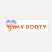 Look at my booty Car Magnet 10 x 3
