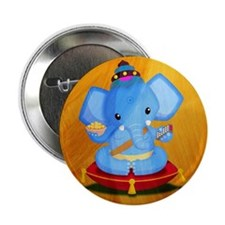 "Baby Ganesha 2.25"" Button"