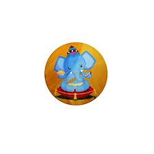 Baby Ganesha Mini Button