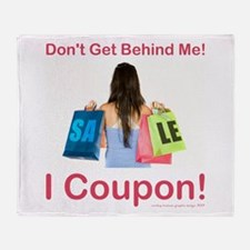 I COUPON! Throw Blanket