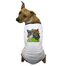 Bantams Assorted Hens Dog T-Shirt
