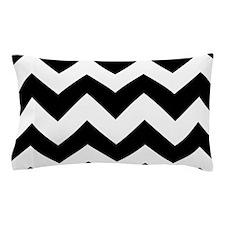 Black And White Chevron Pillow Case
