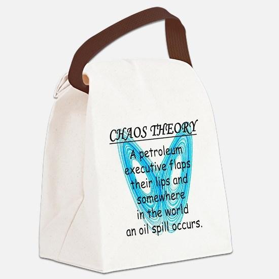chaostheoryoilspill Canvas Lunch Bag