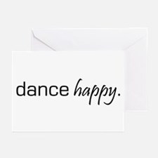 Dance Happy Greeting Cards (Pk of 10)