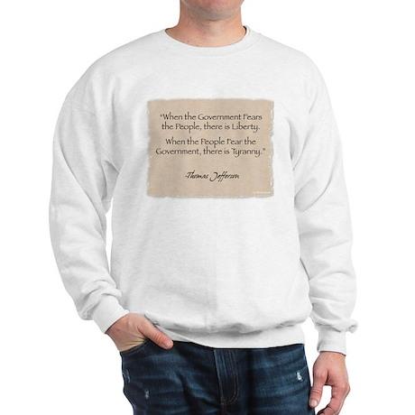 Sweatshirt: Jefferson Government
