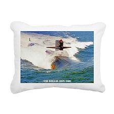 dallas greeting card Rectangular Canvas Pillow