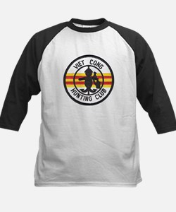 Viet Cong Hunting Club Kids Baseball Jersey