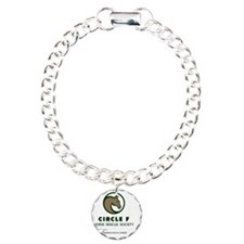 Circle F logo and taglin Bracelet