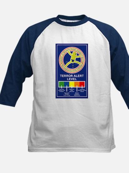 Terroe Alert Kids Baseball Jersey