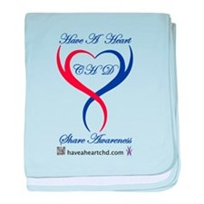 Have A Heart baby blanket