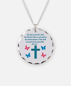 JOHN 3:16 Necklace