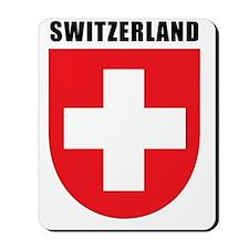 Switzerland Coat Of Arms Mousepad