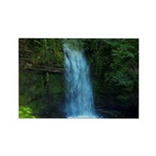 glencar waterfall in yeats countr Rectangle Magnet