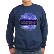 Mt. Mckinley In Fall Sweatshirt (Dark)