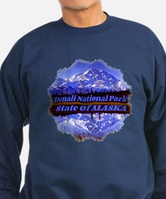 Mt. Mckinley In Fall Sweatshirt (Dark)