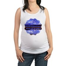 Mt. McKinley in Fall Maternity Tank Top