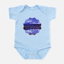 Mt. McKinley in Fall Infant Bodysuit