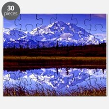 Mt. McKinley in Fall Puzzle