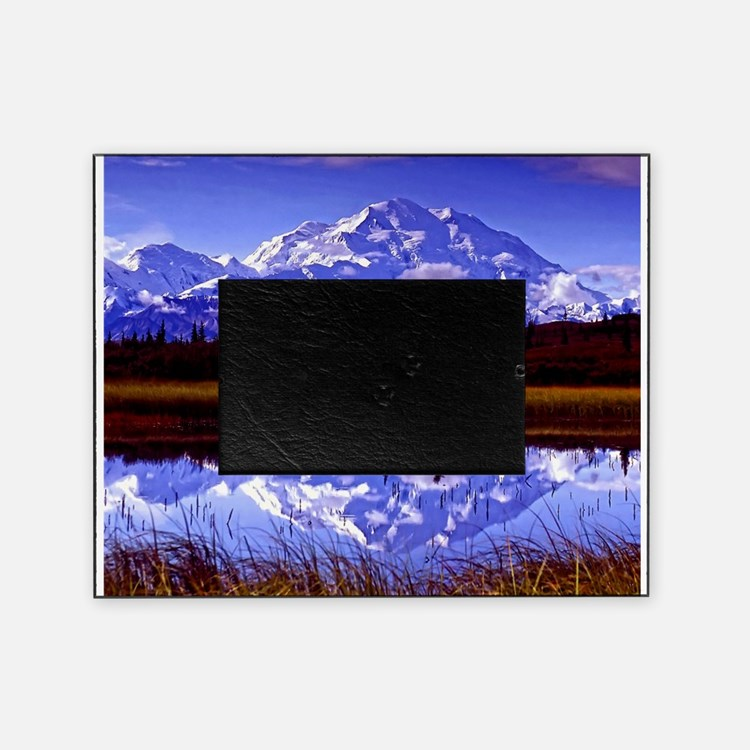 Mt. McKinley in Fall Picture Frame