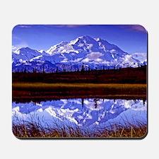 Mt. McKinley in Fall Mousepad