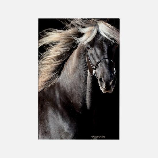 choco_horse_panel Rectangle Magnet