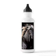 choco_horse_panel Water Bottle