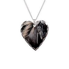 choco_horse_panel Necklace