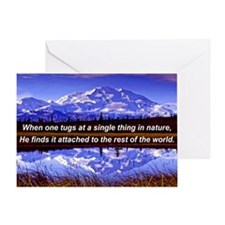 Mt. Mckinley In Fall Greeting Card