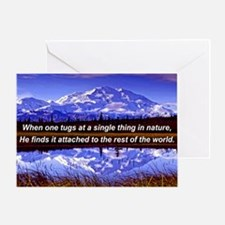 Mt. Mckinley In Fall Greeting Card
