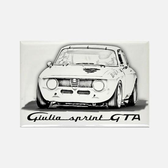 Alfa Romeo Giulia Sprint GTA Rectangle Magnet